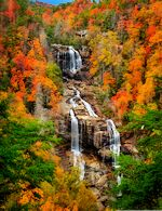 Whitewater Falls in NC